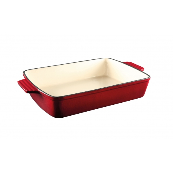 Red Rectangle Baking Dish
