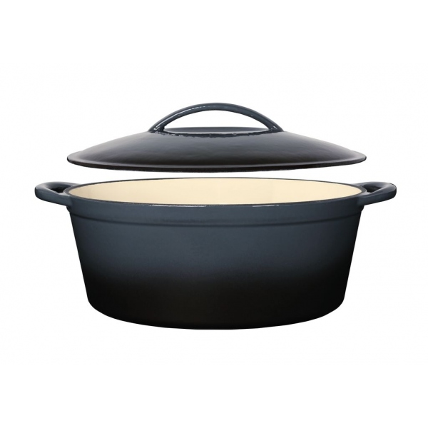 Charcoal Cast Iron Casserole