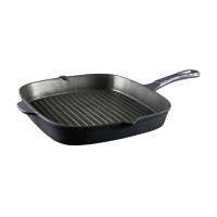 APB Shaffer Berry Cast Iron Skillet CHARCOAL